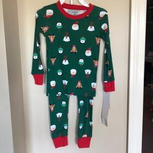 Carters Christmas Pajamas size 3T NWT